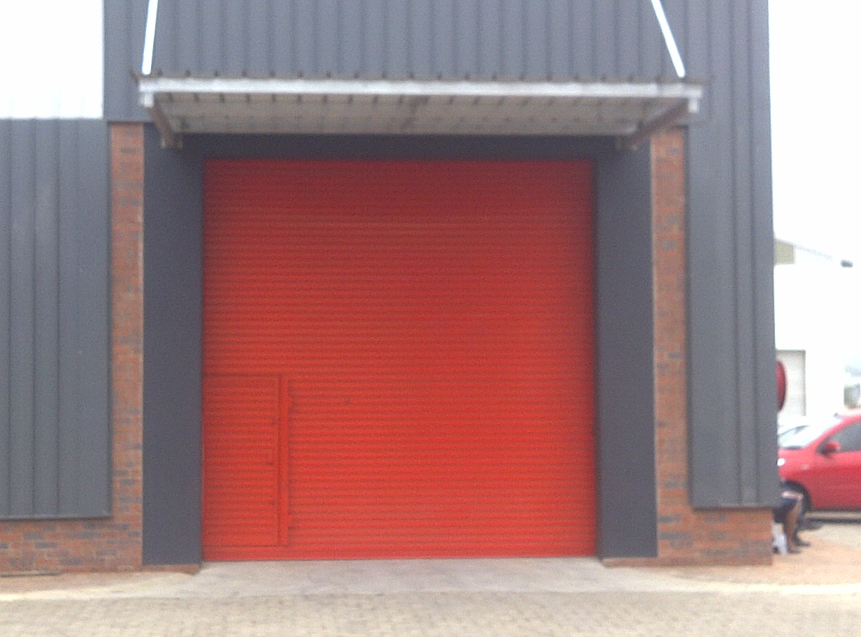Powdercoated Door With Wicket Gate Garage Doors Natal